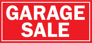 View Palmyra Garage Sale Advert