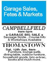 sample yard sale flyer